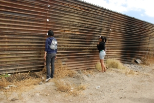 US-Mexico Border Fence courtesy of University of California, Berkeley.